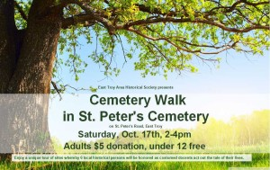 Cemetery Walk flyer 2015